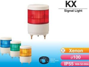 đèn tín hiệu patlite phi 100mm KX-24