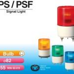 đèn báo hiệu patlite ps-psf 2 phi 82mm
