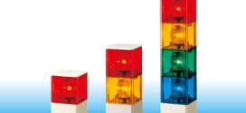 Đèn quay gắn cẩu trụ vuông 82mm x 82mm